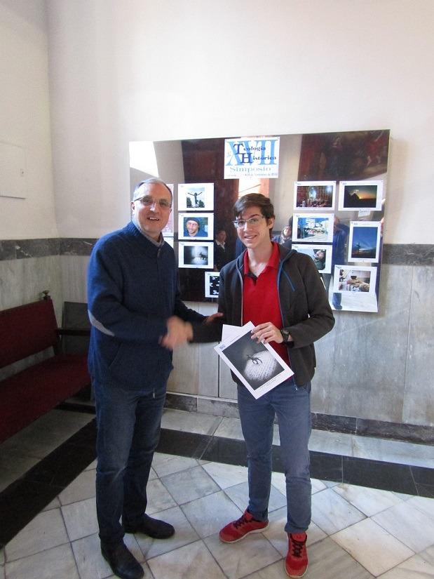 Javier Navarro, tercer premio concurso El cáliz de la misericordia