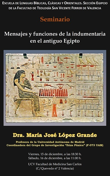 Nuevo seminario de la sección de egipcio de la Academia de Lenguas Bíblicas