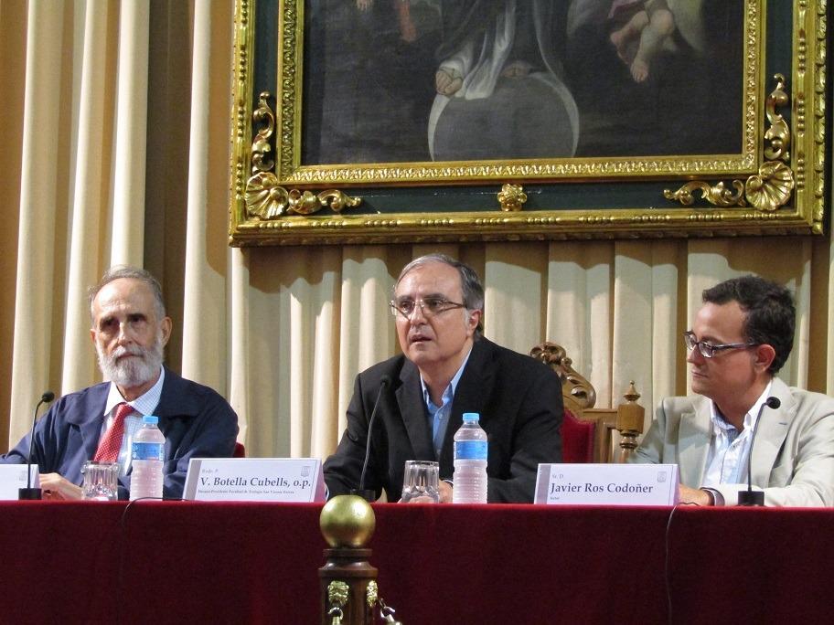 Vicente Botella presentó el libro sobre una Sociología de la experiencia religiosa
