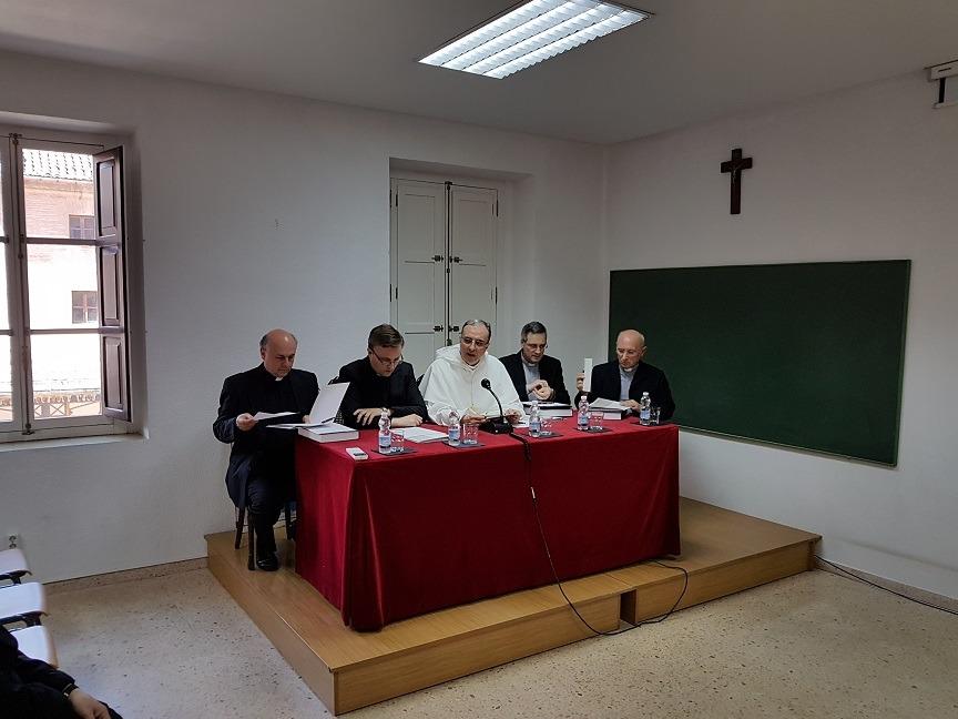 De izda. a dcha.: Santiago Pons, Mariano Ruiz, Vicente Botella, Manuel Martínez y Miguel Navarro